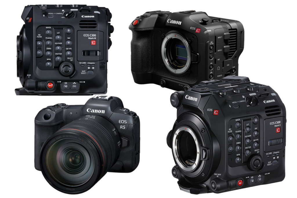 Canon's firmware to boost cinema and live productions