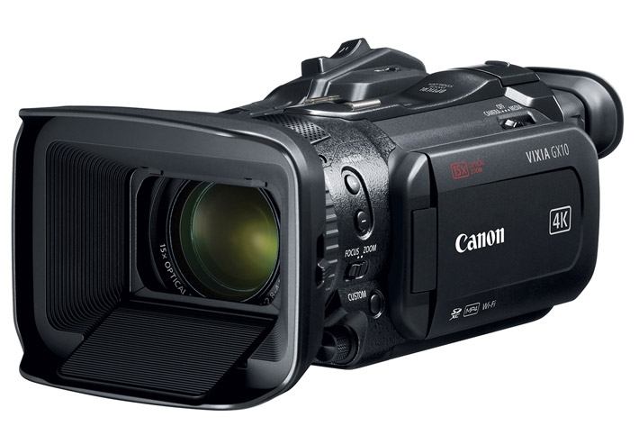 Canon launches 3 new 4K UHD video camcorders
