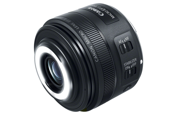 Canon EF-S 35mm F/2.8 MACRO IS STM, a macro with lights