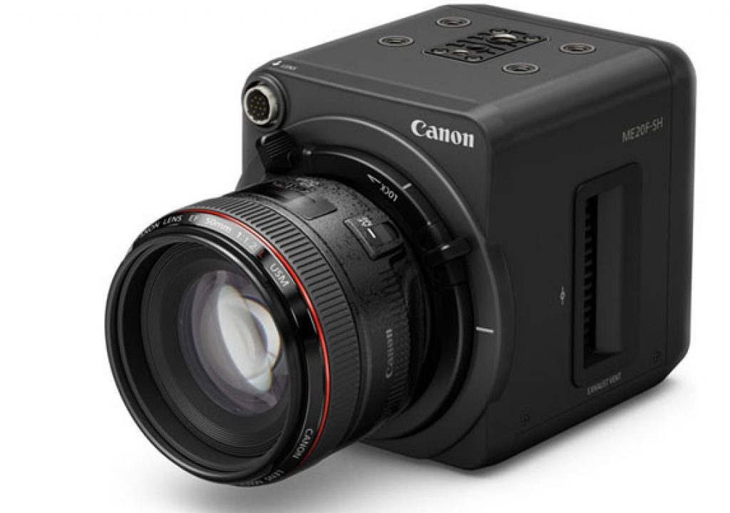 Canon ME20F-SH: a 4 million ISO video camera 1