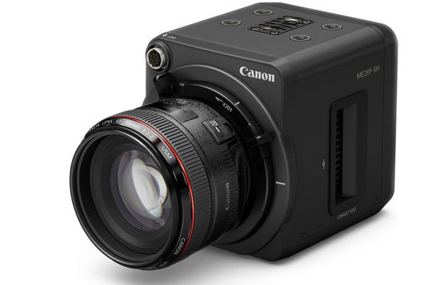 Canon ME20F-SH: a 4 million ISO video camera 3