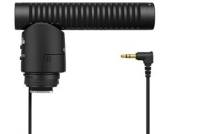 A 3-in-1 microphone for Canon DSLRs