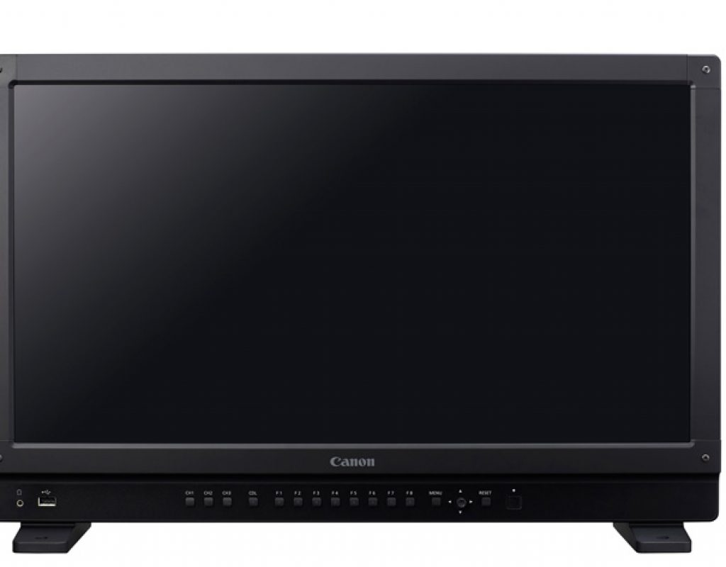 Free firmware upgrades Canon's 4K monitors