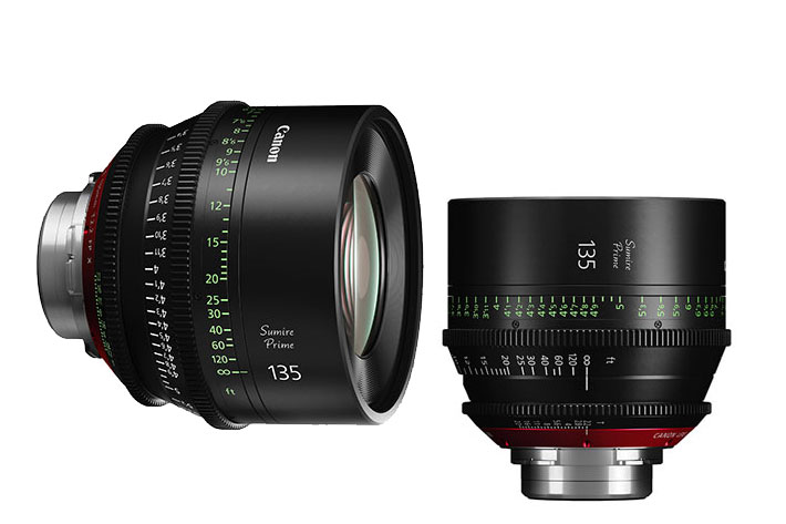 Canon Sumire Prime: seven cinematography lenses with PL/EF mount