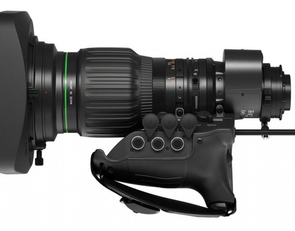 Canon CJ15ex4.3B: first 4K broadcast portable lens to use ASC 5