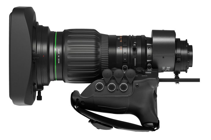 Canon CJ15ex4.3B: first 4K broadcast portable lens to use ASC 7