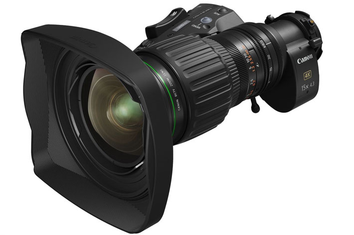 Canon CJ15ex4.3B: first 4K broadcast portable lens to use ASC