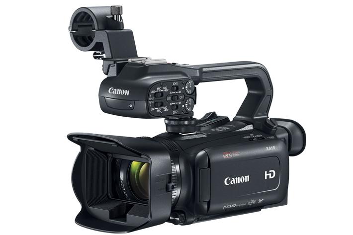 XA15, XA11 and VIXIA HF G21: three new HD camcorders from Canon
