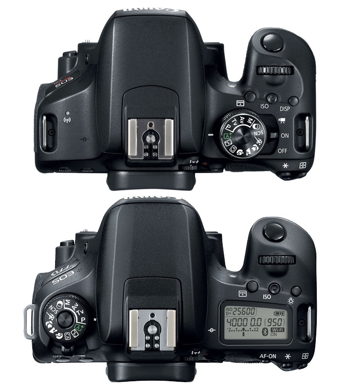 EOS 77D/ EOS Rebel T7i: new entry-level DSLRs from Canon
