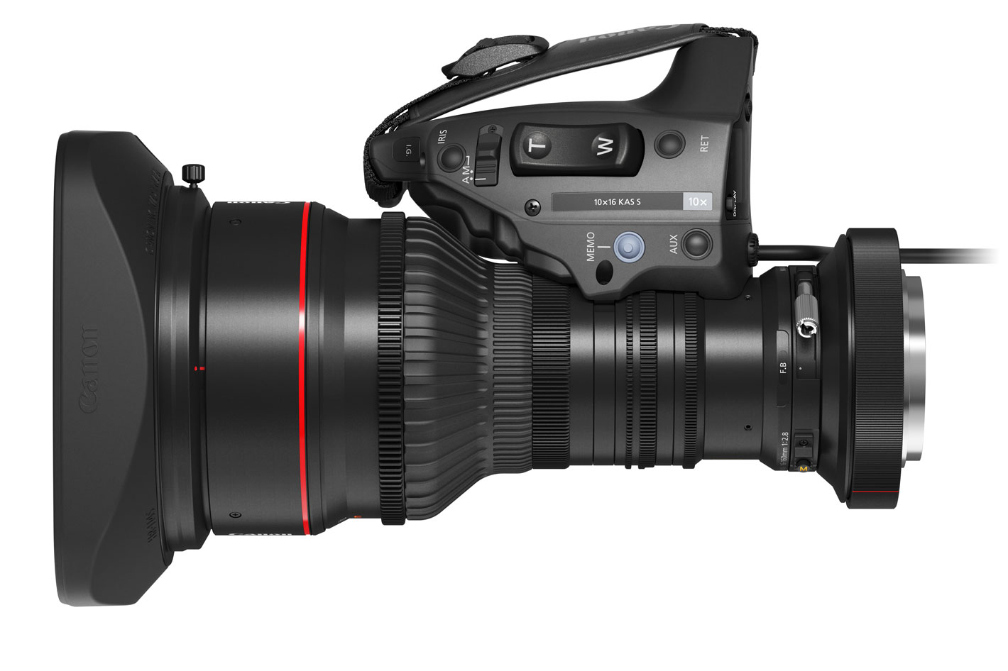 Canon's new XF605 4K camcorder and broadcast zoom lens