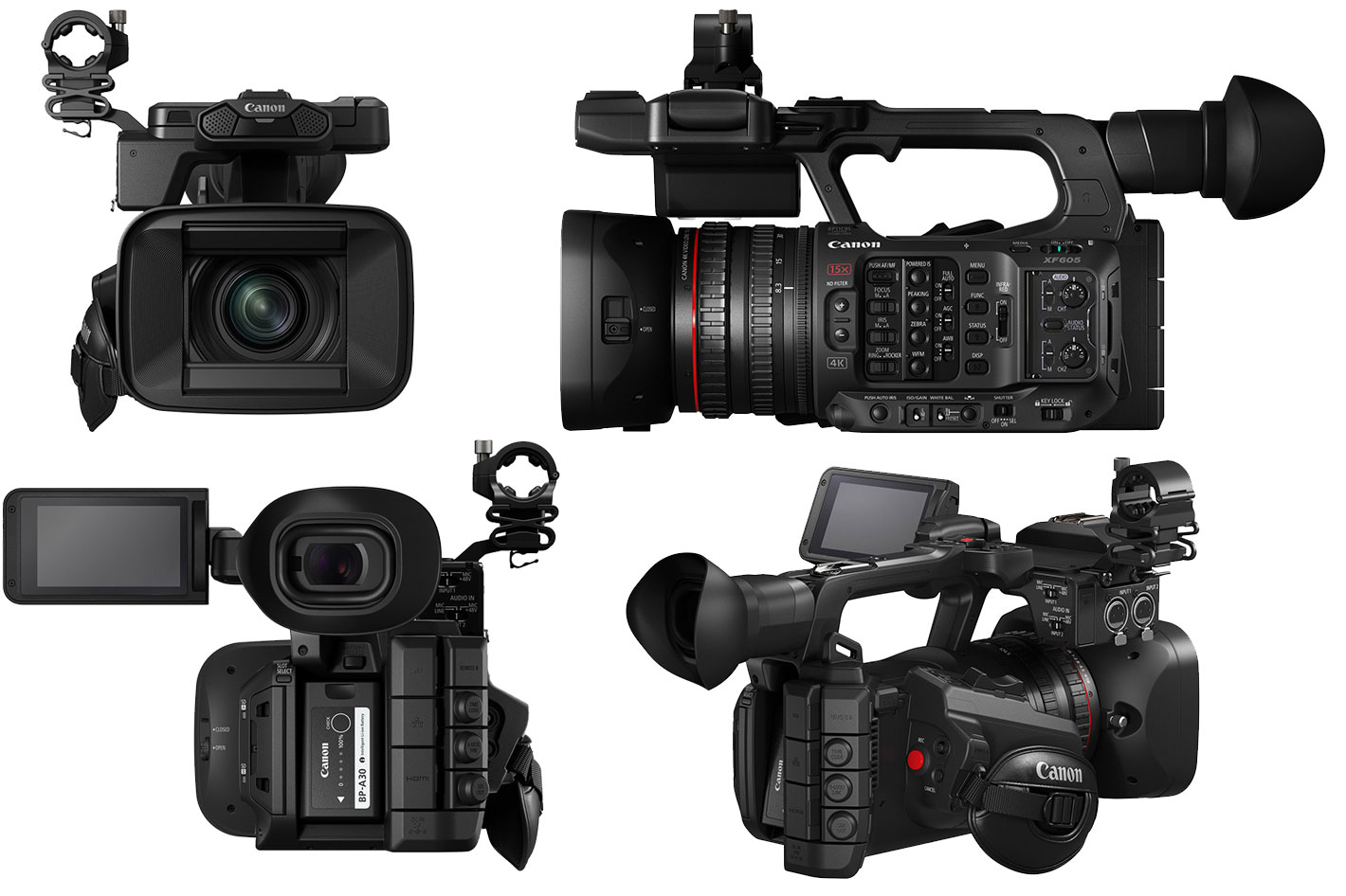 Canon's new XF605 4K camcorder and other imaging solutions