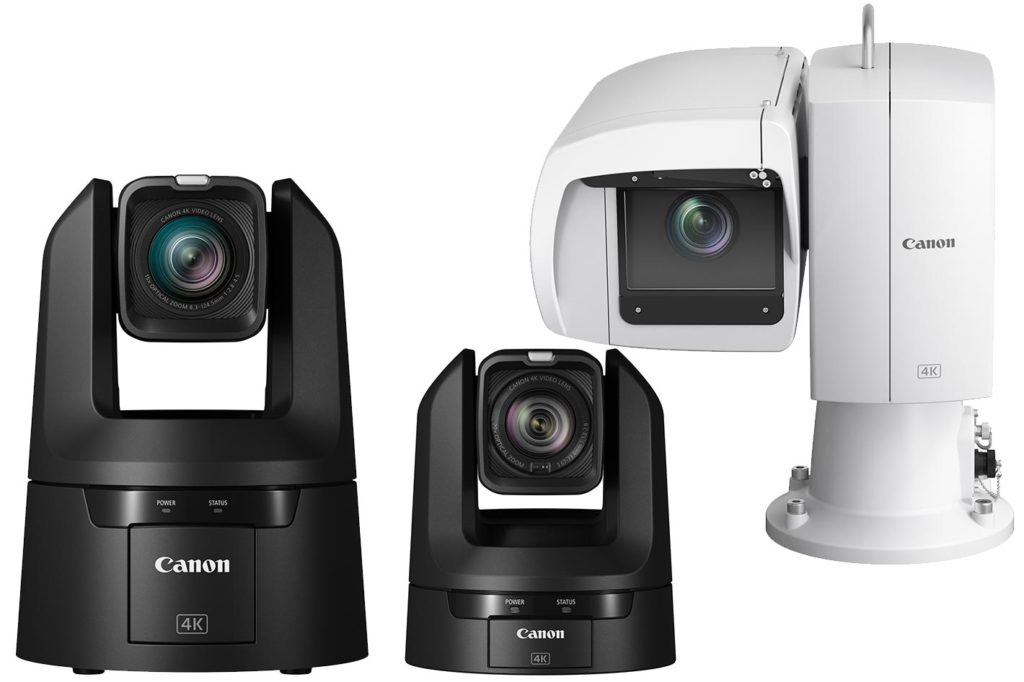 Canon's first line of 4K UHD PTZ indoor and outdoor cameras 1
