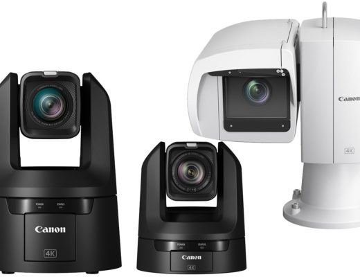 Canon's first line of 4K UHD PTZ indoor and outdoor cameras 4