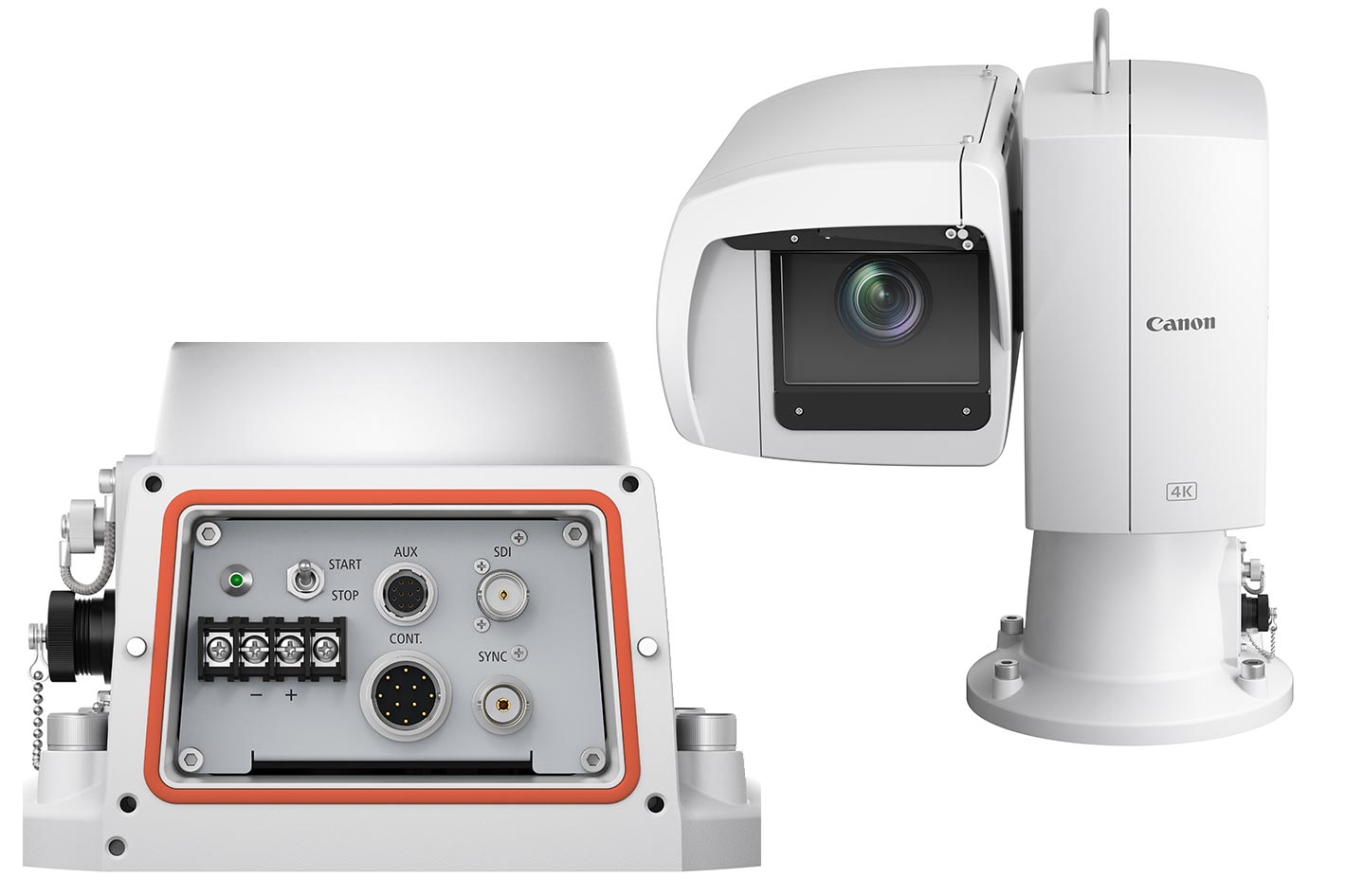 Canon's first line of 4K UHD PTZ cameras