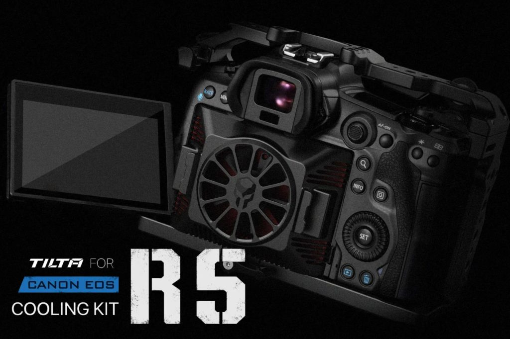Tilta announces a cooling kit for the EOS R5