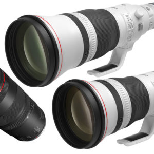 Canon: two fast RF telephotos and a macro which is world's first