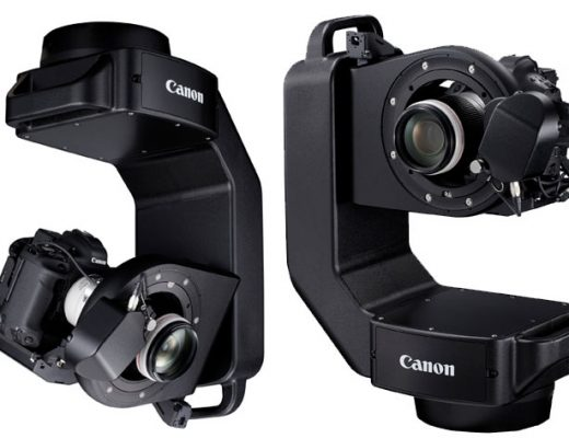 Canon at CES 2020: CR-S700R, a robotic arm system for EOS cameras and lenses