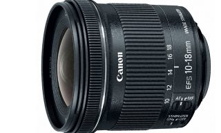 Canon Presents EF-S 10-18mm for Wide-Angle Video