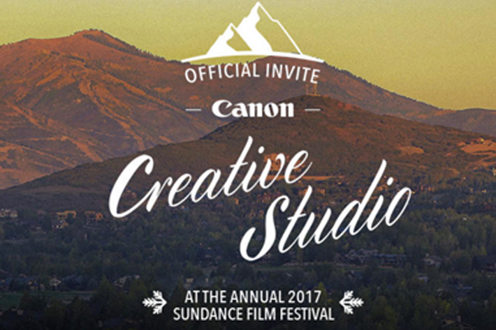 Canon celebrates Cinematography at Sundance Film Festival
