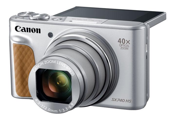 Canon PowerShot SX740 HS gets 4K UHD video
