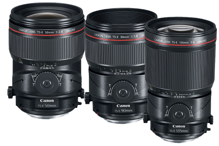 Canon Macro lenses get Tilt & Shift