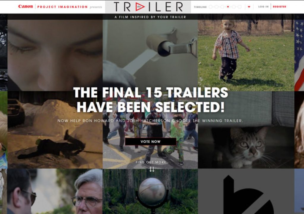Canon's Trailer Contest: 15 Finalists Chosen 1