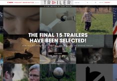 Canon's Trailer Contest: 15 Finalists Chosen