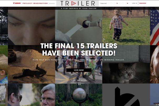 Canon's Trailer Contest: 15 Finalists Chosen 2