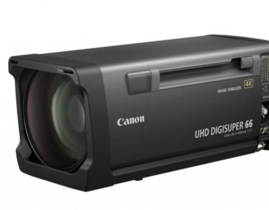 Canon new broadcast lens, the UHD-DIGISUPER 66