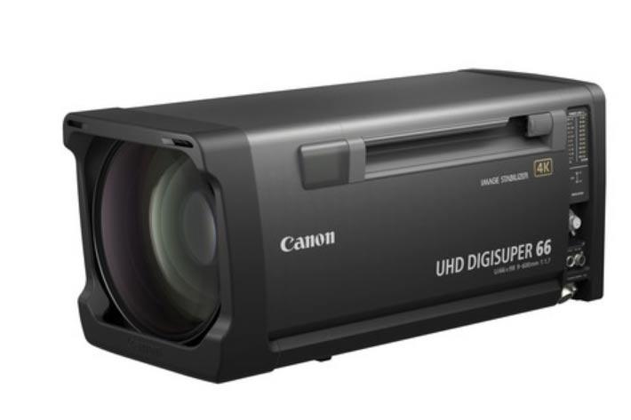 Canon new broadcast lens, the UHD-DIGISUPER 66