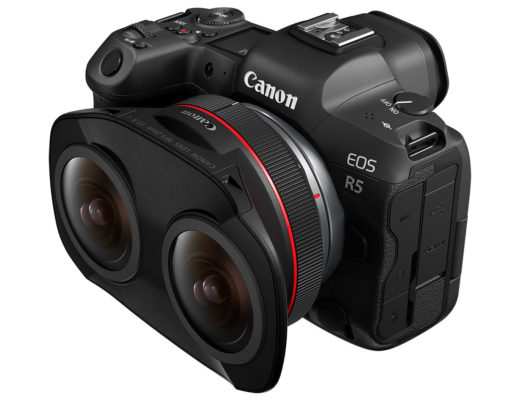 Canon RF5.2mm F2.8 L Dual Fisheye: a world's first for VR capture