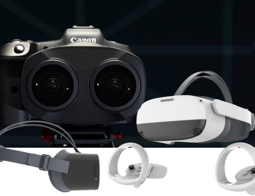 Canon EOS VR System is compatible with Pico VR headsets