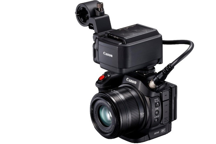 CanonXC15 with Dual XLR inputs and 24p