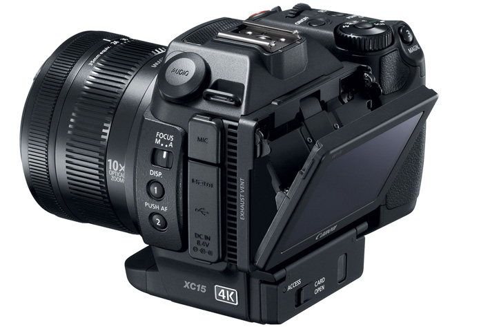 Canon XC15 with Dual XLR inputs and 24p