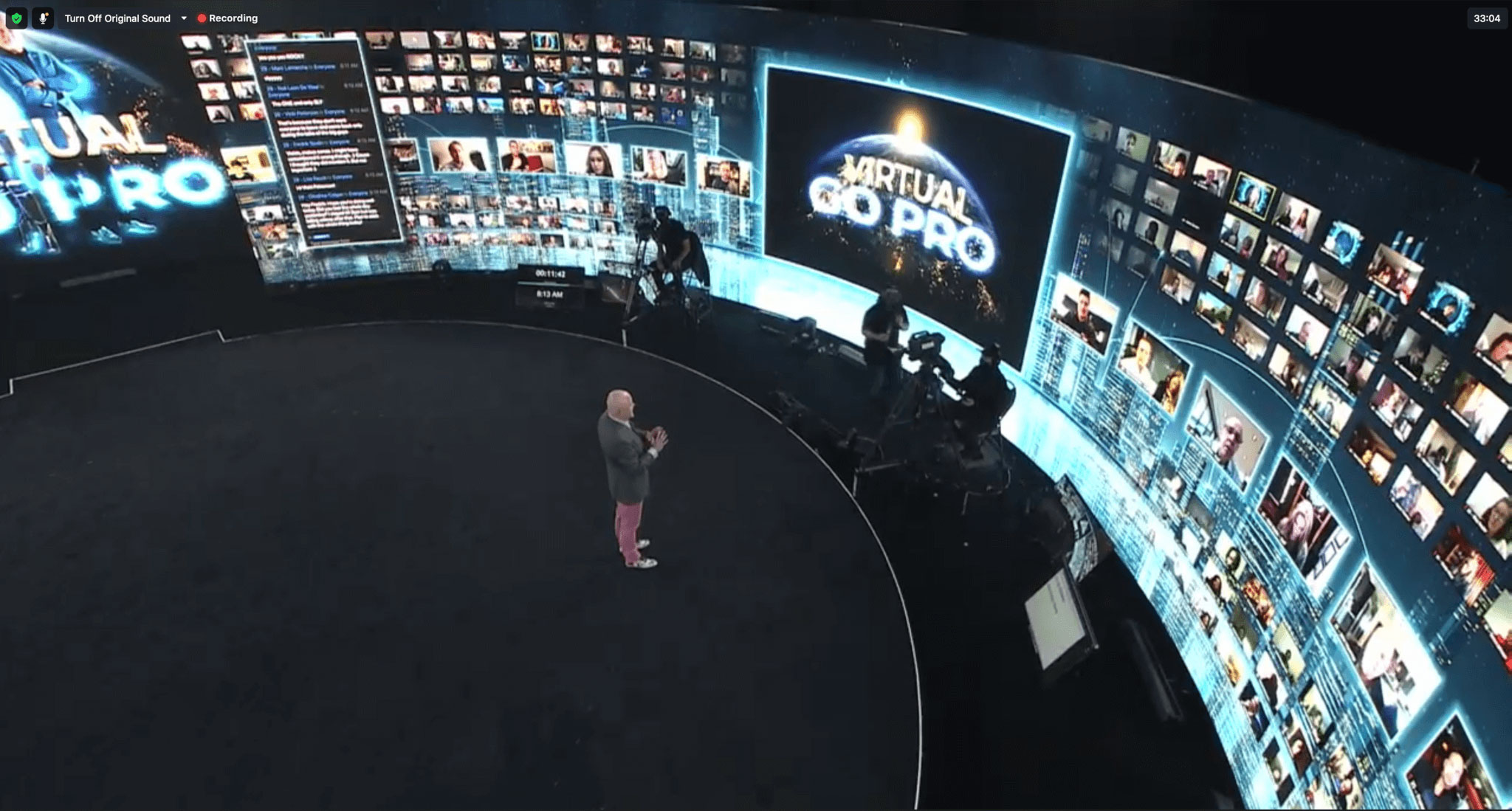 Immersive Design Studios creates studio for virtual and hybrid events