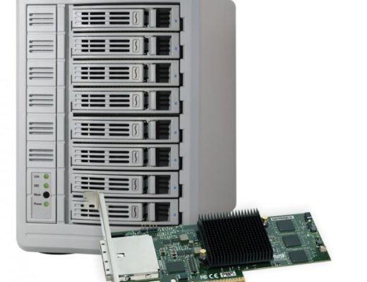 Sonnet Fusion™ DX800RAID Includes SAS Expander; Supports RAID 5 and RAID 6 1