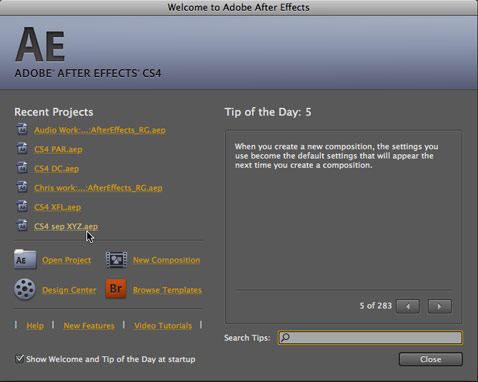 After Effects CS4 37