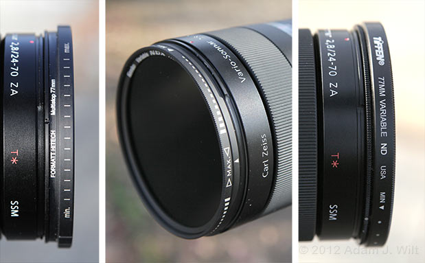 Quick Look: Variable ND Filters 17