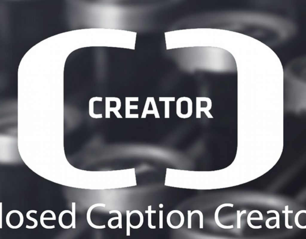 Closed Caption Creator, a free web-based captioning tool 1