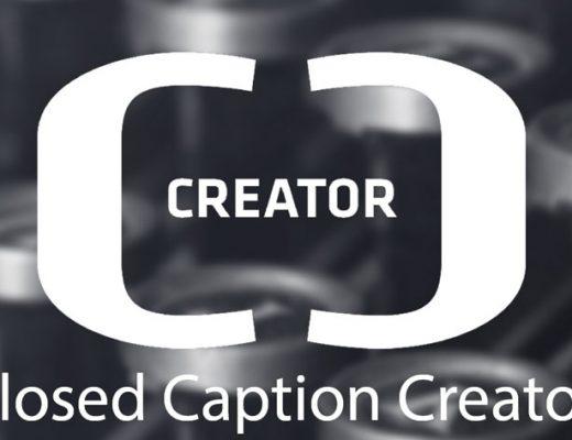 Closed Caption Creator, a free web-based captioning tool 6
