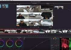 Appending a node to multiple clips in Resolve 12