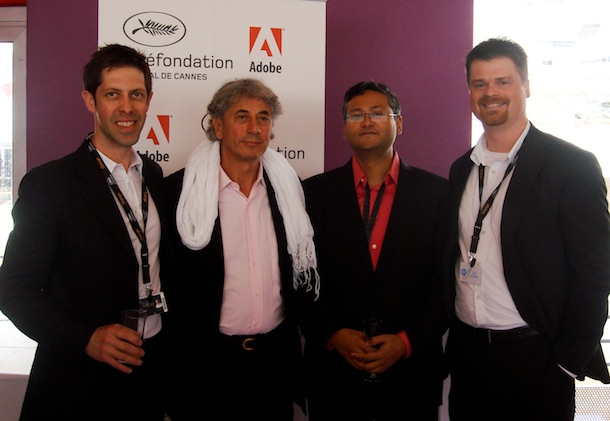 New Strategic Collaboration announced between Adobe & Cin©fondation at 2012 Cannes Film Festiva 1