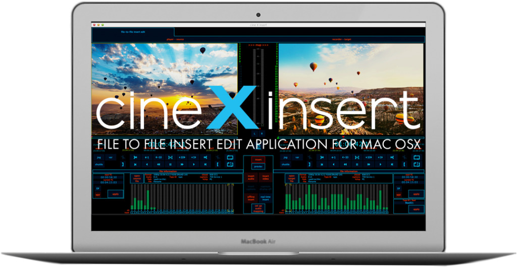 NAB 2016 cineXinsert - A File to File Inserting Tool for Mac OSX 4