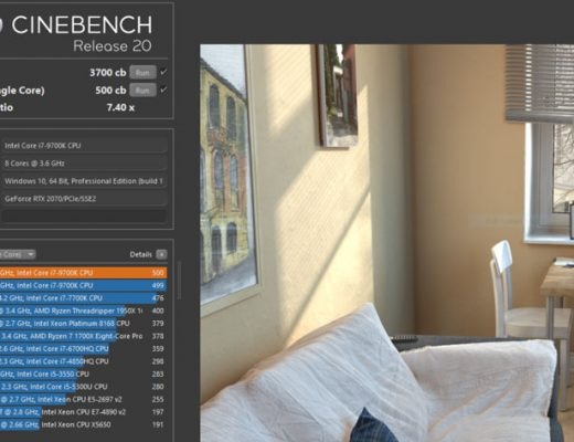 Test your new computer with the new Cinebench Release 20 from Maxon 5