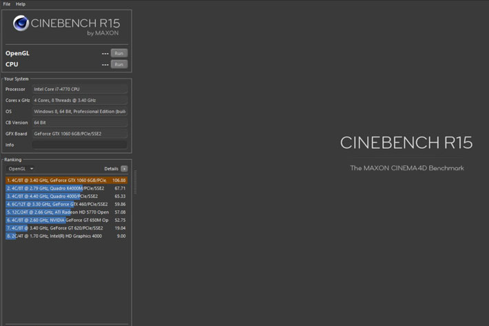 Test your new computer with the new Cinebench Release 20