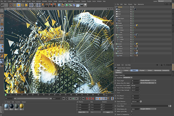 Cinema 4D Release 20: new ways of creating 3D artwork by