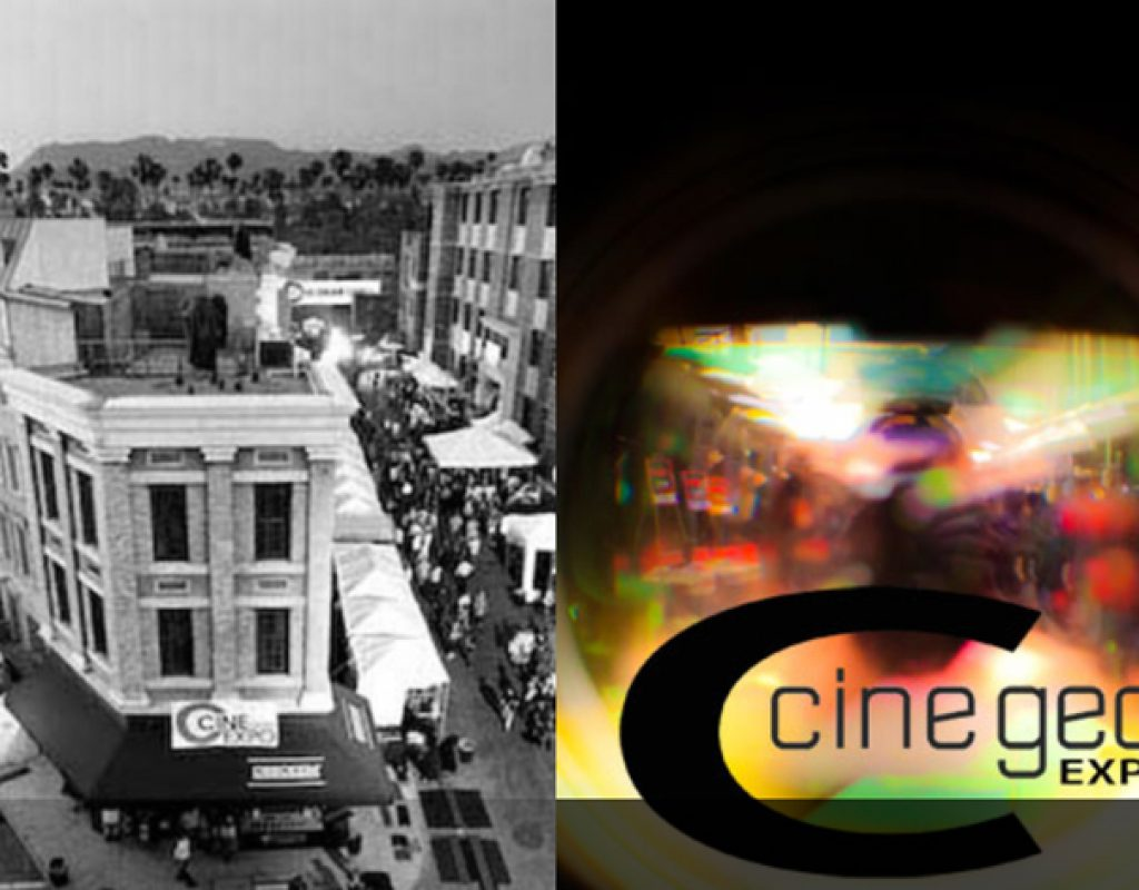 NAB Show in April, Cine Gear Expo in June 1