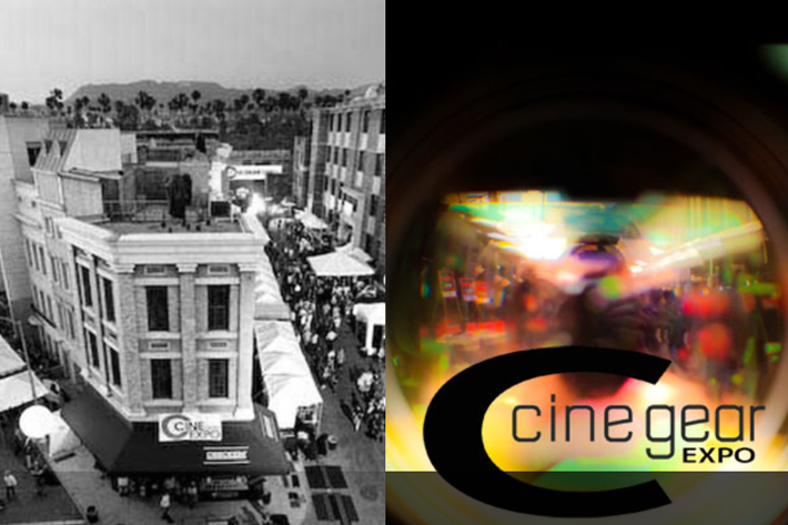 NAB Show in April, Cine Gear Expo in June 2
