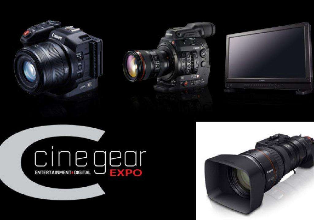 Canon Takes 4K to Cine Gear Expo 2015 1