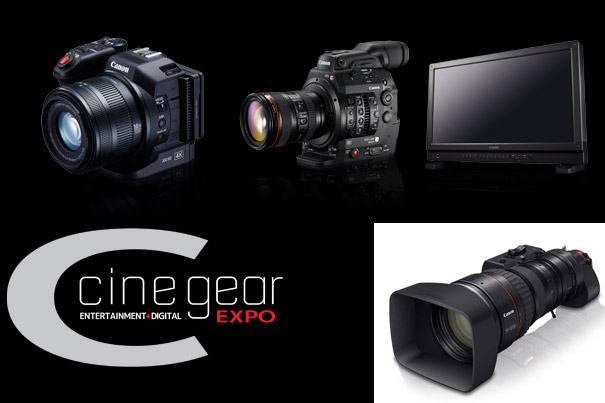 Canon Takes 4K to Cine Gear Expo 2015 2